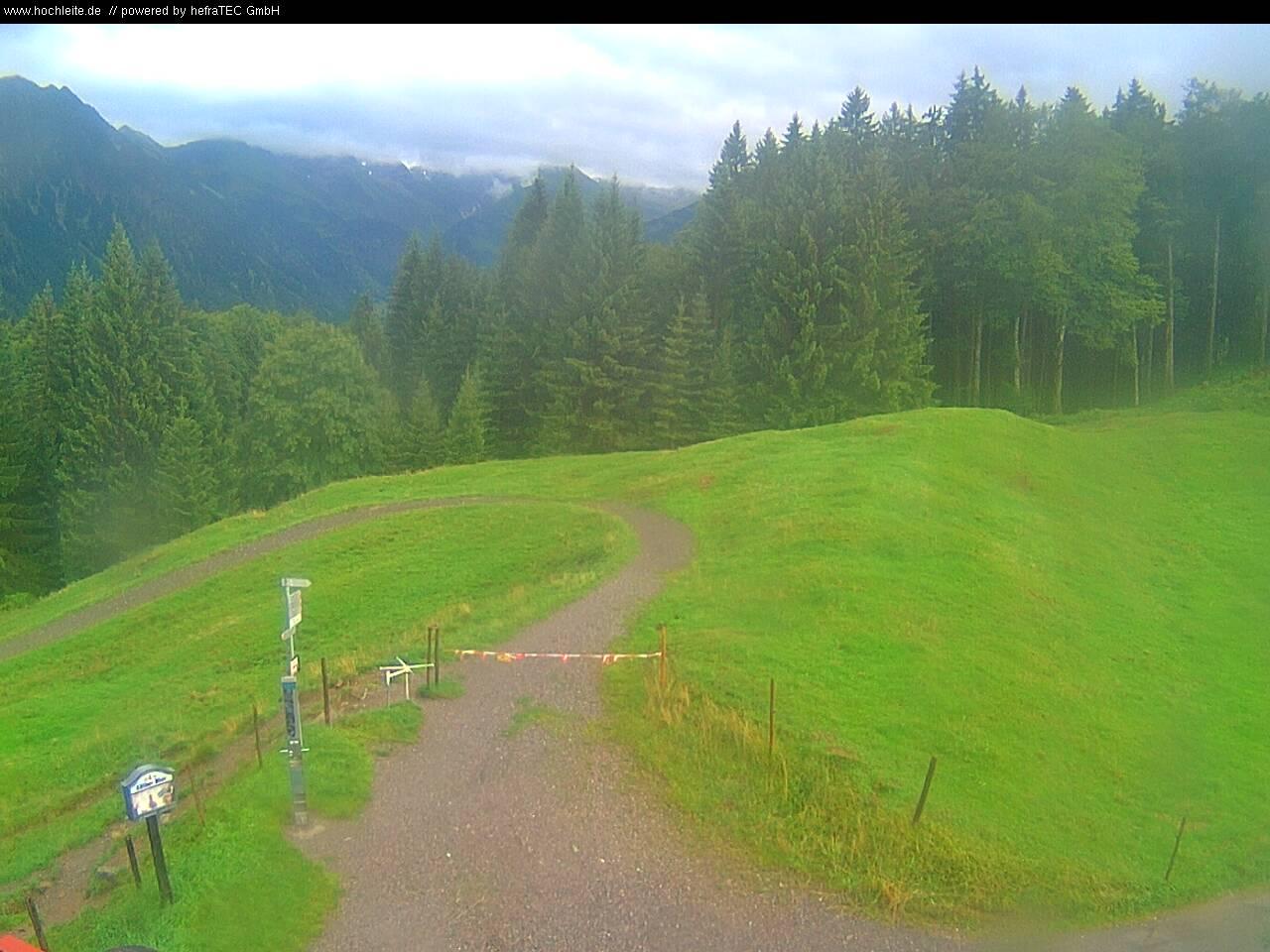 Webcam Allgäu - Oberstdorf - zwischen Sollereck Bergstation und Skiflugschanze im Stillachtal gelegen